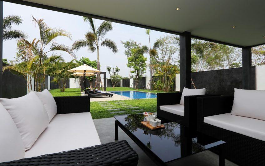 HS005 – Modern 3 bedroom pool house for sale at Baan Wang Tarn – Hang Dong