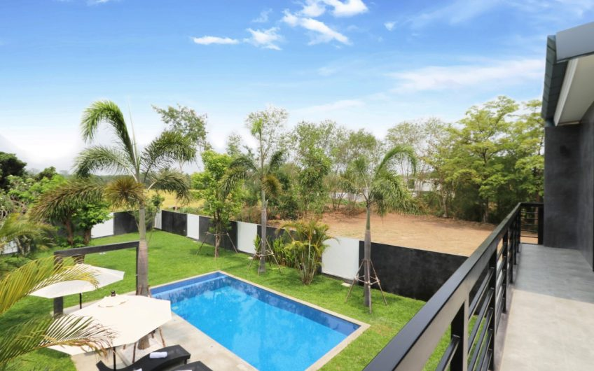 HS005 – Modern 3 bedroom pool house for sale at Baan Wang Tarn – Hang Dong