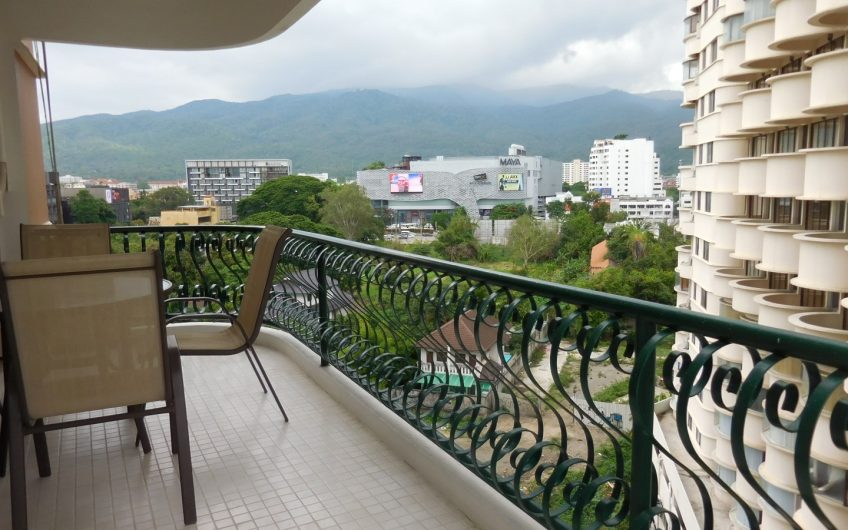CS018 – Hillside 4  big balcony facing to Doi Suthep.